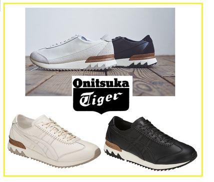 competitive price 587ee b86ab Onitsuka Tiger 2018 SS Unisex Plain Leather Sneakers