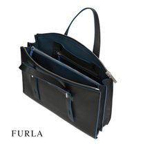 FURLA 2WAY Leather Totes