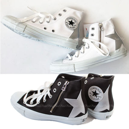 Star Casual Style Unisex Low-Top Sneakers
