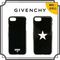 GIVENCHY Star Unisex Plain Smart Phone Cases
