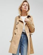 ASOS Plain Medium Elegant Style Trench Coats