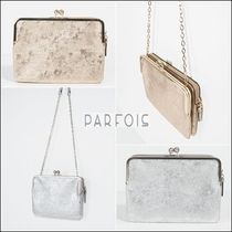 PARFOIS Chain Plain Party Style Clutches