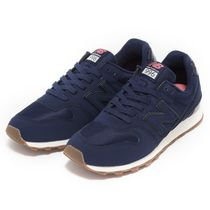 New Balance 996 Rubber Sole Casual Style Faux Fur Street Style Plain