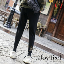 Casual Style Sweat Street Style Plain Long Sweatpants