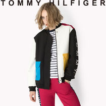 Tommy Hilfiger Casual Style Street Style Bi-color Plain Medium