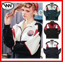 WV PROJECT Unisex Street Style Track Jackets