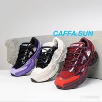 RAF SIMONS Unisex Street Style Collaboration Bi-color Sneakers