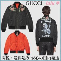 GUCCI Short Flower Patterns Other Animal Patterns MA-1