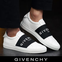 GIVENCHY Blended Fabrics Leather Sneakers