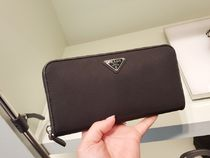 PRADA Nylon Long Wallets