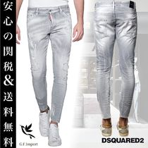 D SQUARED2 Denim Street Style Plain Skinny Fit Jeans & Denim