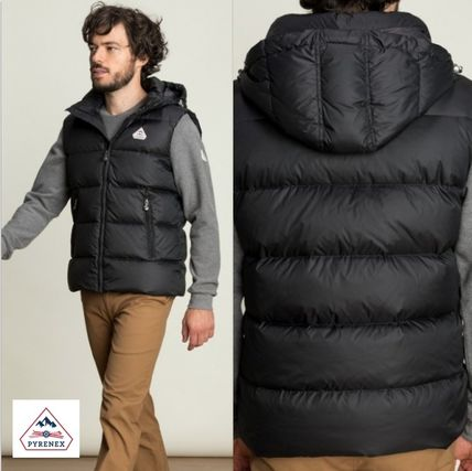 Short Street Style Plain Down Jackets