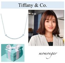 Tiffany & Co Tiffany T Costume Jewelry Casual Style 18K Gold Necklaces & Pendants