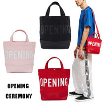 OPENING CEREMONY Casual Style Unisex Cambus Street Style 2WAY Totes