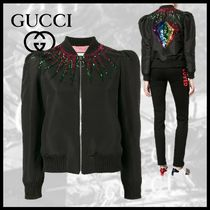 GUCCI Casual Style Medium Varsity Jackets