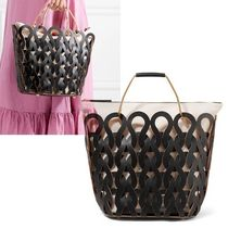 MARNI Cambus 2WAY Office Style Straw Bags