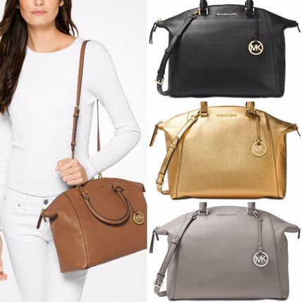 Michael Kors Handbags 2way Plain Leather