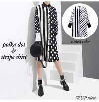 Casual Style Long Sleeves Python Shirts & Blouses