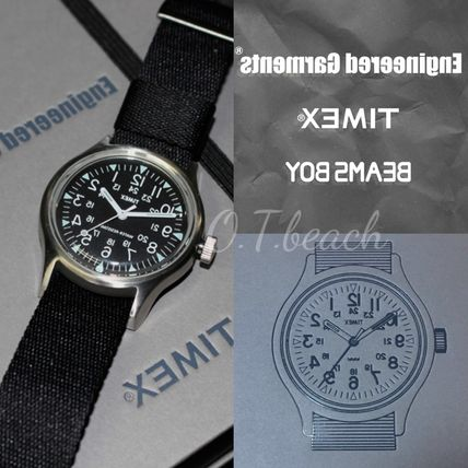 Collaboration Analog Watches