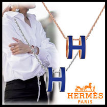 HERMES Costume Jewelry Casual Style Necklaces & Pendants