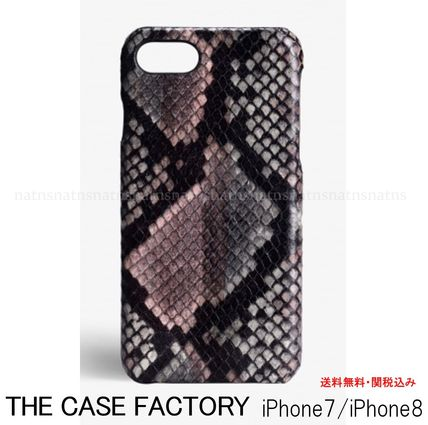 Leather Python Smart Phone Cases