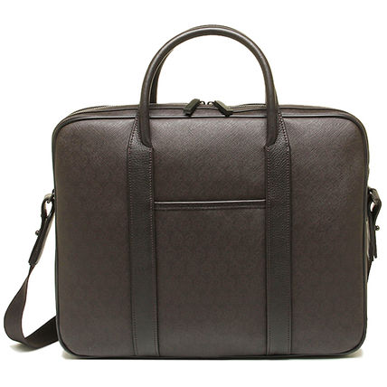 Monogram A4 2WAY Leather Business & Briefcases