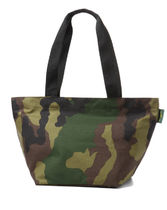 HERVE CHAPELIER Camouflage Nylon A4 Totes