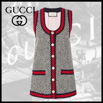 GUCCI Casual Style Medium Vests
