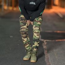 HYPER DENIM Camouflage Street Style Cargo Pants