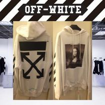 Off-White Pullovers Stripes Long Sleeves Cotton Oversized Shirts
