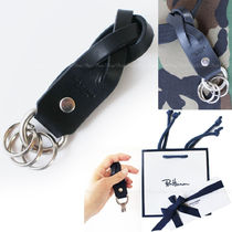 Ron Herman Plain Leather Keychains & Holders