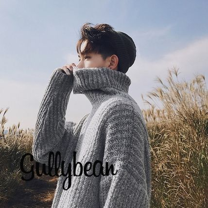 Knits & Sweaters Long Sleeves Plain Knits & Sweaters