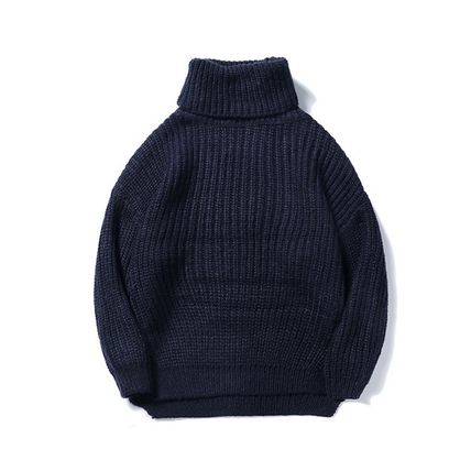 Knits & Sweaters Long Sleeves Plain Knits & Sweaters 2