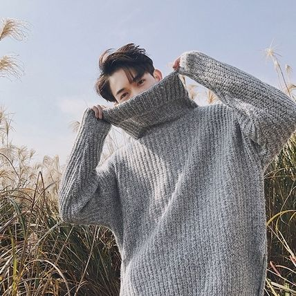 Knits & Sweaters Long Sleeves Plain Knits & Sweaters 3