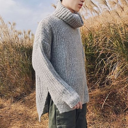 Knits & Sweaters Long Sleeves Plain Knits & Sweaters 4