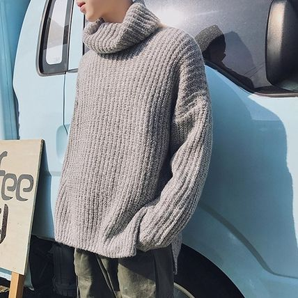 Knits & Sweaters Long Sleeves Plain Knits & Sweaters 6