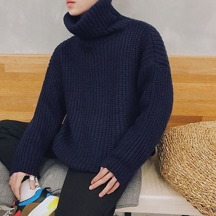 Knits & Sweaters Long Sleeves Plain Knits & Sweaters 13