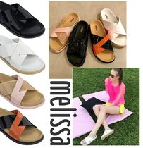 410c5ade7 Melissa Casual Style Shower Shoes Flat Sandals