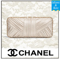 CHANEL Lambskin Party Style Handbags