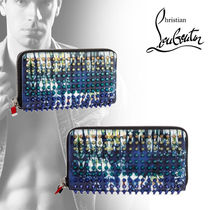 Christian Louboutin Panettone  Calfskin Long Wallets