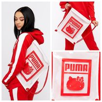 PUMA Casual Style Street Style Collaboration Crystal Clear Bags