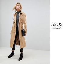 ASOS Plain Long Office Style Trench Coats