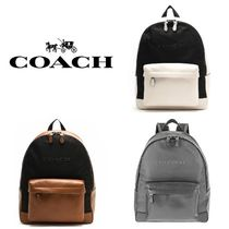 Coach Nylon Plain Backpacks
