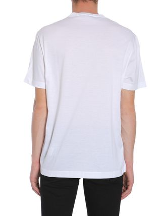 VERSACE More T-Shirts Street Style Cotton Short Sleeves T-Shirts 4