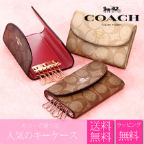 Coach SIGNATURE PVC Clothing Keychains & Bag Charms