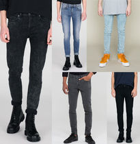 Ron Herman Unisex Denim Street Style Plain Skinny Fit Jeans & Denim