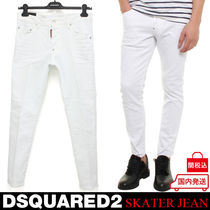 D SQUARED2 Denim Blended Fabrics Plain Jeans & Denim