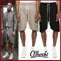 Other UK Street Style Plain Cotton Cargo Shorts