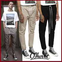 Other UK Street Style Plain Cotton Cropped Pants
