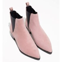 & Other Stories Casual Style Suede Plain Chelsea Boots Ankle & Booties Boots